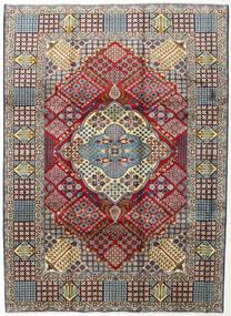 Najafabad Matto 254X345 Itämainen Käsinsolmittu Tummanpunainen/Tummanharmaa Isot (Villa, Persia/Iran)