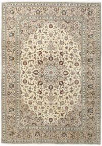 Keshan Matto 250X357 Itämainen Käsinsolmittu Beige/Vaaleanharmaa Isot (Villa, Persia/Iran)