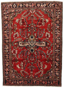 Lillian Matto 168X231 Itämainen Käsinsolmittu Tummanpunainen/Tummanruskea (Villa, Persia/Iran)