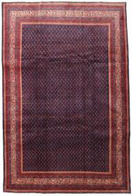 Sarough Mir Matto 215X322 Itämainen Käsinsolmittu Tummanpunainen/Tummanvioletti (Villa, Persia/Iran)