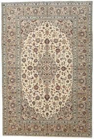 Keshan Matto 198X292 Itämainen Käsinsolmittu Vaaleanharmaa/Beige (Villa, Persia/Iran)