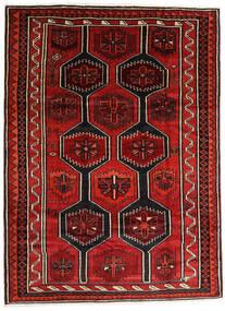 Lori Matto 210X280 Itämainen Käsinsolmittu Tummanruskea/Ruoste/Tummanpunainen (Villa, Persia/Iran)