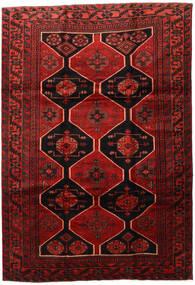 Lori Matto 218X317 Itämainen Käsinsolmittu Tummanpunainen/Tummanruskea/Ruoste (Villa, Persia/Iran)