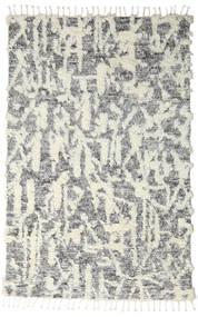 Barchi/Moroccan Berber - Indo Matto 160X230 Moderni Käsinsolmittu Vaaleanharmaa/Tummanharmaa/Valkoinen/Creme (Villa, Intia)