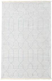 Bamboo Silkki Handloom Matto 160X230 Moderni Käsinsolmittu Beige/Vaaleanharmaa/Valkoinen/Creme ( Intia)