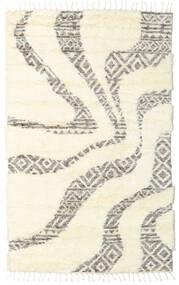 Barchi/Moroccan Berber - Indo Matto 160X230 Moderni Käsinsolmittu Valkoinen/Creme/Beige (Villa, Intia)
