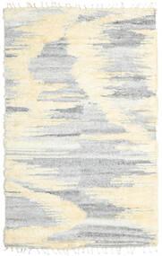 Barchi/Moroccan Berber - Indo Matto 160X230 Moderni Käsinsolmittu Valkoinen/Creme/Vaaleanharmaa/Beige (Villa, Intia)
