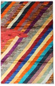 Moroccan Berber - Afghanistan Matto 118X184 Moderni Käsinsolmittu Tummanpunainen/Tummanvioletti (Villa, Afganistan)
