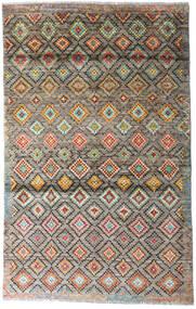 Moroccan Berber - Afghanistan Matto 117X187 Moderni Käsinsolmittu Vaaleanharmaa/Vaaleanruskea (Villa, Afganistan)