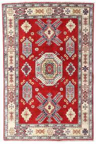 Kazak Matto 98X150 Itämainen Käsinsolmittu Beige/Ruoste (Villa, Afganistan)