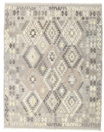 Kelim Afghan Old Style Matto 185X235 Itämainen Käsinkudottu Vaaleanharmaa/Beige (Villa, Afganistan)