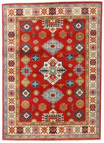 Kazak Matto 145X203 Itämainen Käsinsolmittu Ruoste/Vaaleanruskea (Villa, Afganistan)