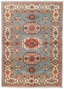 Kazak Matto 124X174 Itämainen Käsinsolmittu Tummanharmaa/Tummanpunainen (Villa, Pakistan)