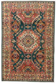 Kazak Matto 119X183 Itämainen Käsinsolmittu Tummanharmaa/Punainen (Villa, Pakistan)