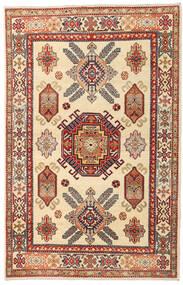 Kazak Matto 119X186 Itämainen Käsinsolmittu Beige/Vaaleanruskea (Villa, Afganistan)