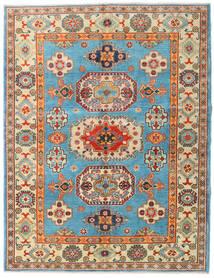 Kazak Matto 151X196 Itämainen Käsinsolmittu Tummanbeige/Tummanruskea (Villa, Afganistan)