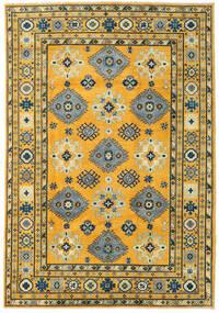 Kazak Matto 202X294 Itämainen Käsinsolmittu Vaaleanruskea/Tummanharmaa (Villa, Afganistan)