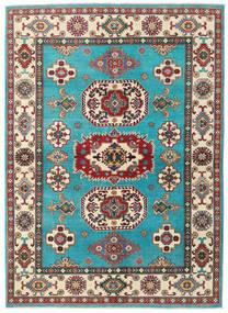 Kazak Matto 176X241 Itämainen Käsinsolmittu Siniturkoosi/Beige (Villa, Afganistan)