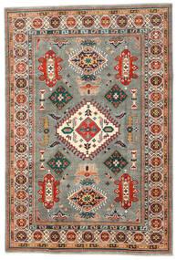 Kazak Matto 201X295 Itämainen Käsinsolmittu Tummanharmaa/Beige (Villa, Afganistan)