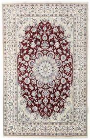 Nain Matto 194X305 Itämainen Käsinsolmittu Vaaleanharmaa/Tummanruskea (Villa, Persia/Iran)