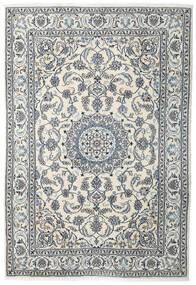 Nain Matto 198X288 Itämainen Käsinsolmittu Beige/Vaaleanharmaa (Villa, Persia/Iran)