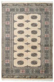 Pakistan Bokhara 2Ply Matto 132X197 Itämainen Käsinsolmittu Vaaleanharmaa/Tummanharmaa/Beige (Villa, Pakistan)