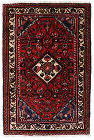 Turkaman Matto 66X83 Itämainen Käsinsolmittu Tummanruskea/Tummanpunainen (Villa, Persia/Iran)