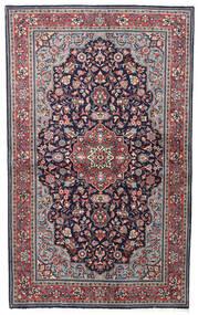 Sarough Sherkat Farsh Matto 128X210 Itämainen Käsinsolmittu Tummanvioletti/Vaaleanharmaa (Villa, Persia/Iran)