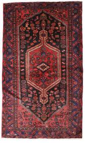 Hamadan Matto 132X224 Itämainen Käsinsolmittu Tummanpunainen/Tummanruskea (Villa, Persia/Iran)