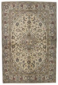 Keshan Matto 137X205 Itämainen Käsinsolmittu Vaaleanharmaa/Tummanharmaa (Villa, Persia/Iran)