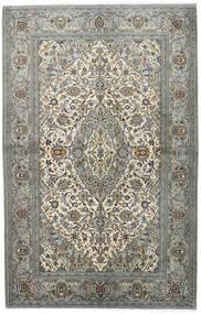 Keshan Matto 140X218 Itämainen Käsinsolmittu Vaaleanharmaa/Tummanharmaa (Villa, Persia/Iran)