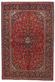 Keshan Matto 144X215 Itämainen Käsinsolmittu Tummanpunainen/Tummanruskea (Villa, Persia/Iran)