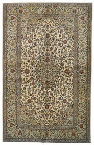 Keshan Matto 142X224 Itämainen Käsinsolmittu Tummanharmaa/Vaaleanvihreä (Villa, Persia/Iran)