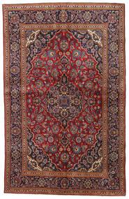 Keshan Matto 135X212 Itämainen Käsinsolmittu Tummanpunainen/Musta (Villa, Persia/Iran)
