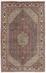 Bidjar Matto 155X260 Itämainen Käsinsolmittu Tummanpunainen/Vaaleanharmaa (Villa, Persia/Iran)