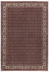 Bidjar Silkillä Matto 172X251 Itämainen Käsinsolmittu Tummanruskea/Tummanpunainen (Villa/Silkki, Persia/Iran)
