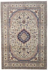 Nain Matto 241X349 Itämainen Käsinsolmittu Vaaleanharmaa/Tummanharmaa/Beige (Villa, Persia/Iran)