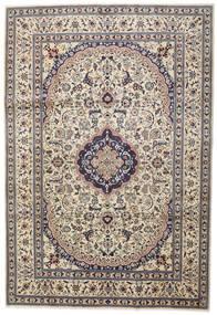 Nain Matto 242X351 Itämainen Käsinsolmittu Vaaleanharmaa/Beige (Villa, Persia/Iran)