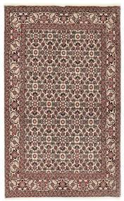 Bidjar Matto 112X177 Itämainen Käsinsolmittu Tummanruskea/Vaaleanharmaa (Villa, Persia/Iran)