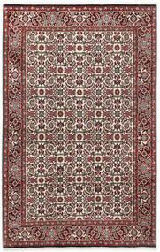 Bidjar Matto 110X173 Itämainen Käsinsolmittu Tummanruskea/Tummanpunainen (Villa, Persia/Iran)
