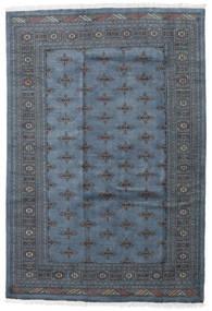 Pakistan Bokhara 3Ply Matto 170X251 Itämainen Käsinsolmittu Tummanharmaa/Sininen/Tummansininen (Villa, Pakistan)