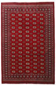 Pakistan Bokhara 3Ply Matto 201X301 Itämainen Käsinsolmittu Tummanpunainen/Punainen/Tummanruskea (Villa, Pakistan)