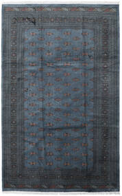 Pakistan Bokhara 3Ply Matto 205X315 Itämainen Käsinsolmittu Tummansininen/Tummanharmaa (Villa, Pakistan)