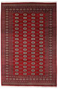 Pakistan Bokhara 2Ply Matto 205X308 Itämainen Käsinsolmittu Tummanpunainen/Punainen (Villa, Pakistan)