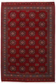 Pakistan Bokhara 3Ply Matto 201X301 Itämainen Käsinsolmittu Tummanpunainen/Tummanruskea (Villa, Pakistan)