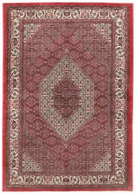 Bidjar Silkillä Matto 173X250 Itämainen Käsinsolmittu Tummanpunainen/Tummanruskea (Villa/Silkki, Persia/Iran)