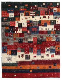Gabbeh Persia Matto 167X213 Moderni Käsinsolmittu Tummanpunainen/Musta/Tummanruskea (Villa, Persia/Iran)
