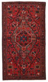 Hamadan Matto 124X223 Itämainen Käsinsolmittu Tummanpunainen/Ruoste (Villa, Persia/Iran)