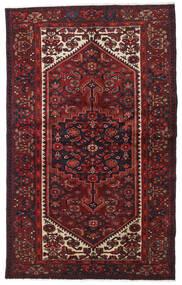 Hamadan Matto 129X208 Itämainen Käsinsolmittu Tummanpunainen (Villa, Persia/Iran)