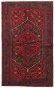 Hamadan Matto 132X217 Itämainen Käsinsolmittu Tummanpunainen/Musta (Villa, Persia/Iran)